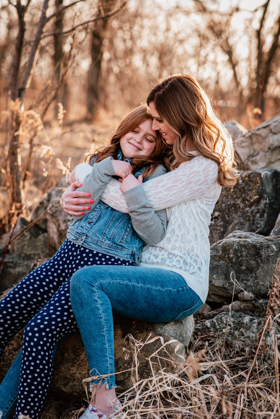 fox valley photographers, mother-daughter session by daphodil photo